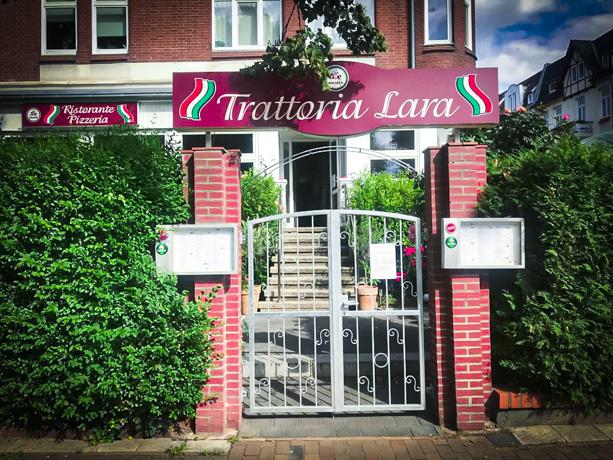 Ristorante Pizzeria Trattoria Lara in Lübeck Sankt Gertrud | Eingang Falkenstraße